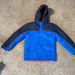 Boys Ski Snow Jacket Sz 9/10